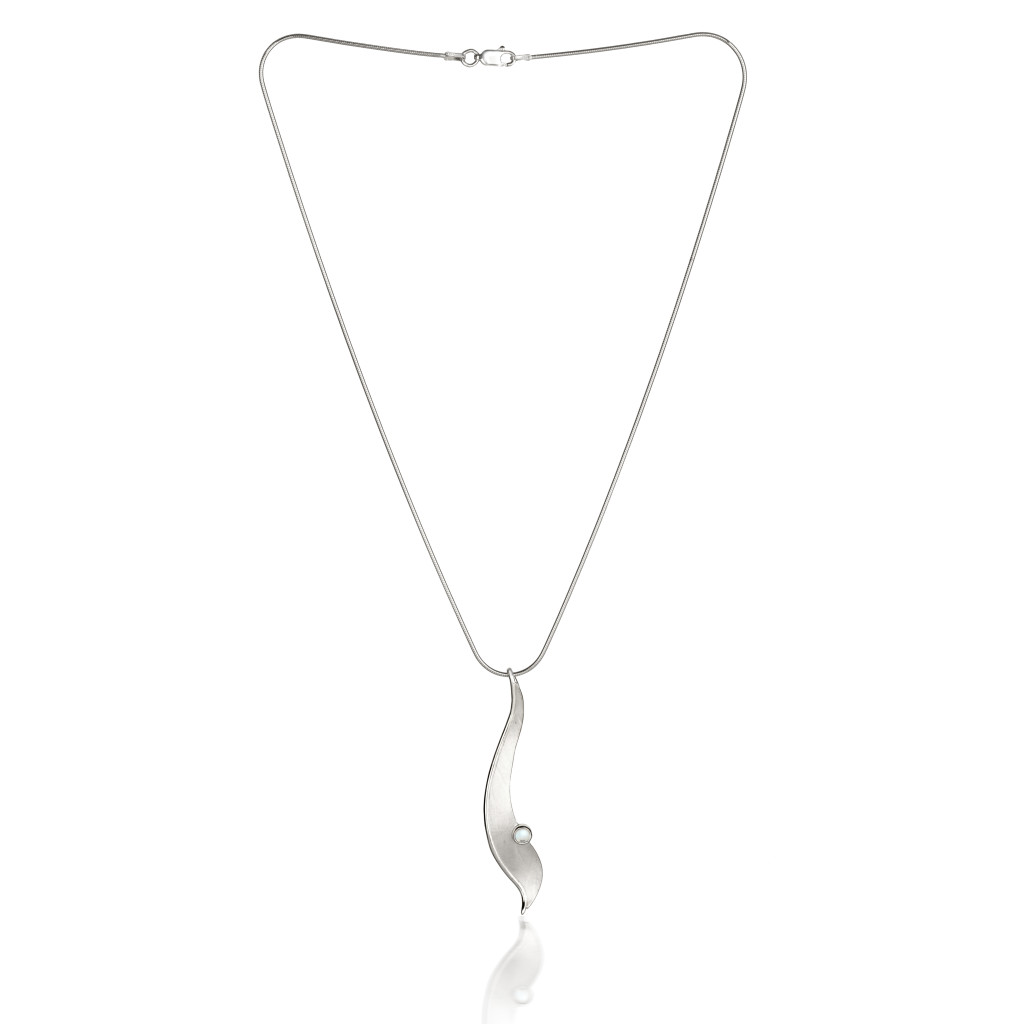 Fiona Kerr Jewellery/Morning Dew Silver Large Pendant-MD05