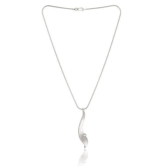 Fiona Kerr Jewellery/Morning Dew Silver Large Pendant-MD05