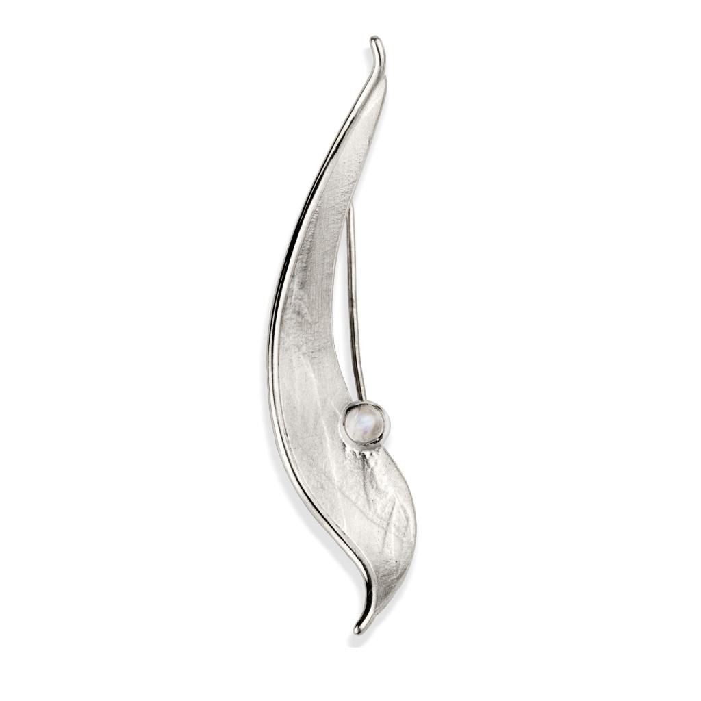 Fiona Kerr Jewellery/Morning Dew Silver Brooch-MD06