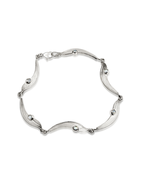 Fiona Kerr Jewellery/Morning Dew Silver Bracelet-MD08