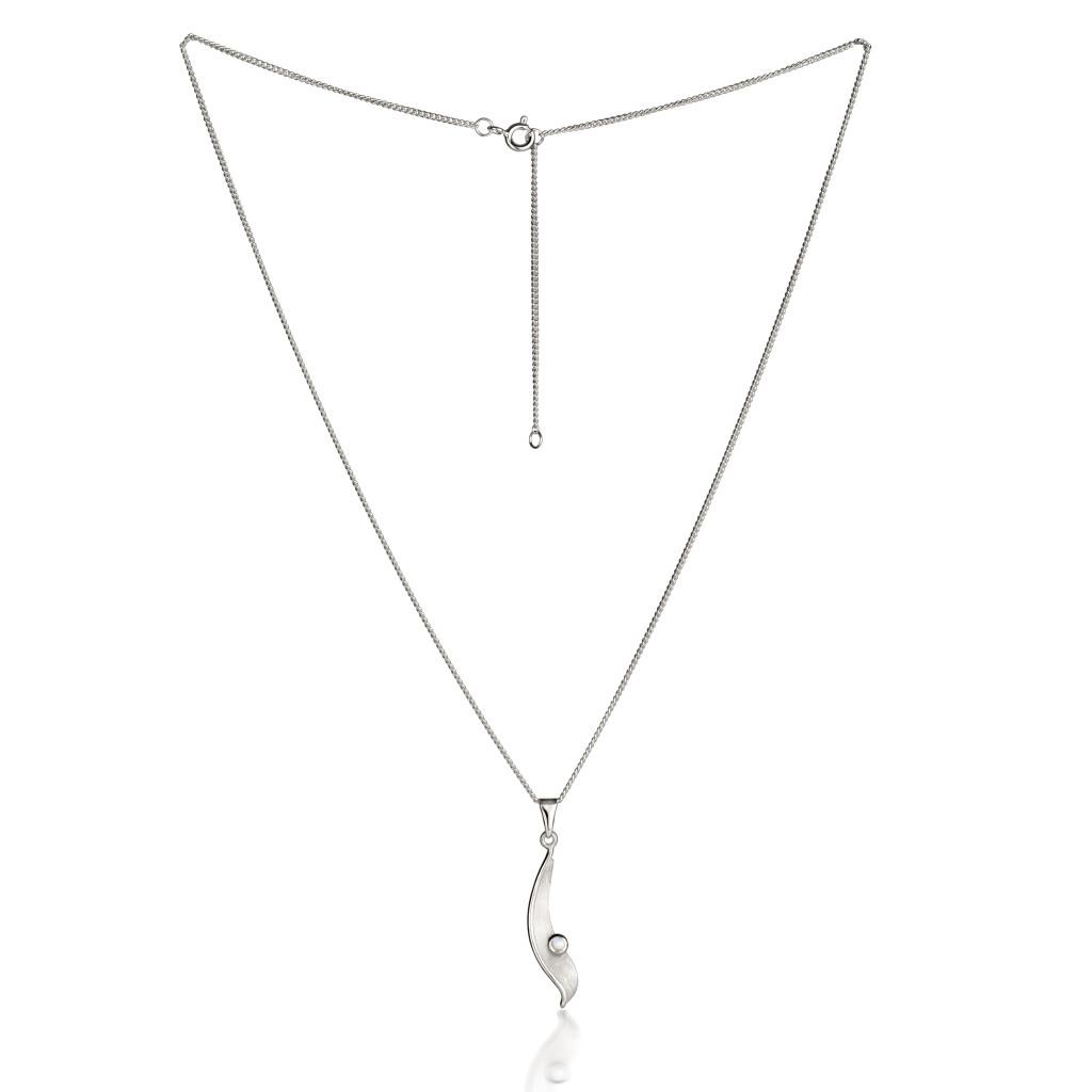 Fiona Kerr Jewellery/Morning Dew Silver Small Pendant-MD09