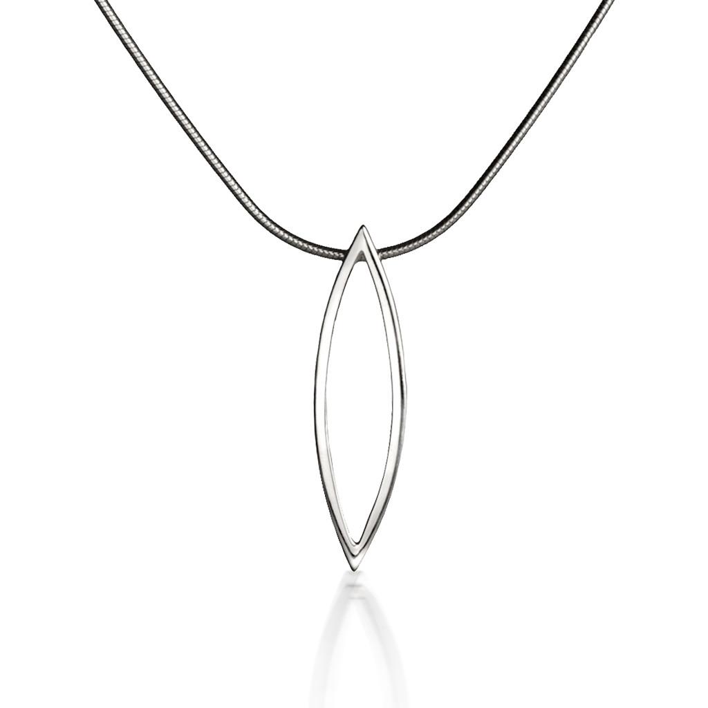 Silver Swing Time Medium Pendant