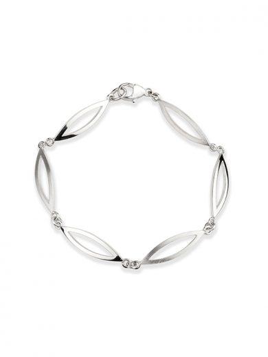 Silver Swing Time Bracelet