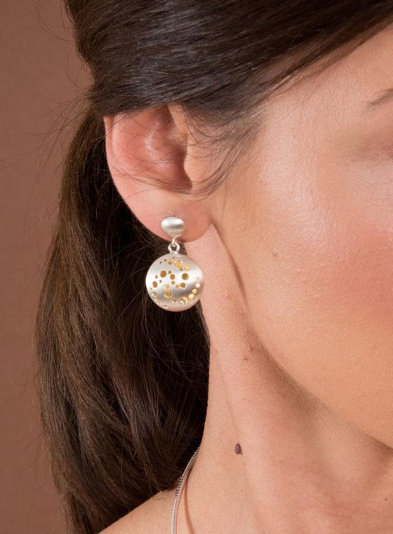 Fiona Kerr Jewellery | Celtic Chaos Drop Earring