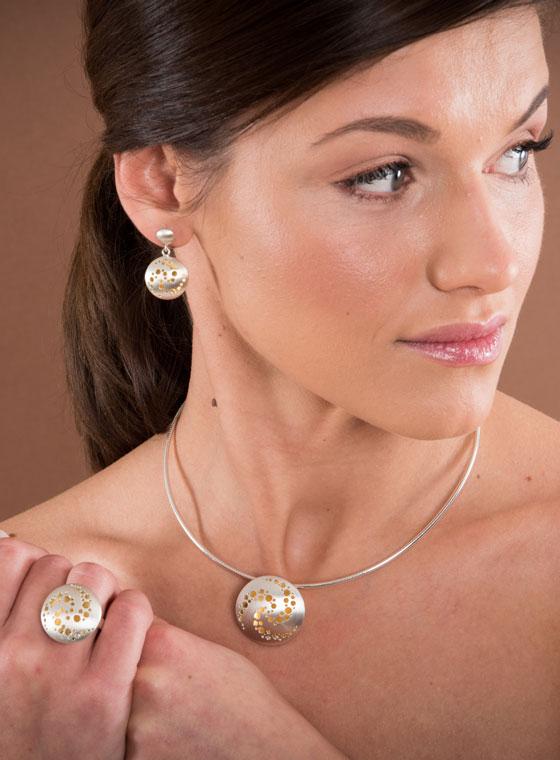 Fiona Kerr Jewellery / Celtic Chaos Large Pendant