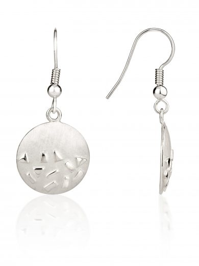 Fiona Kerr Jewellery / Silver Confetti Drop Earrings - SRD04