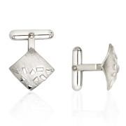 Fiona Kerr Jewellery / Silver Confetti Square Cufflinks – SSQ06