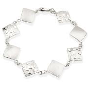 Fiona Kerr Jewellery / Silver Confetti Square Bracelet – SSQ07