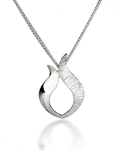 Fiona Kerr Jewellery / Ebb and Flow Small Silver Pendant - EF05