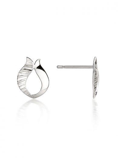 Fiona Kerr Jewellery / Ebb and Flow Silver Stud Earrings - EF09