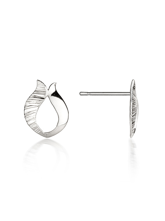 Fiona Kerr Jewellery / Ebb and Flow Silver Stud Earrings - EF09