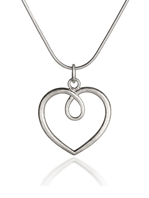 Hearts large silver heart pendant hh04f fiona kerr jewellery fiona kerr jewellery hearts large frosted silver heart pendant hh04f mozeypictures Gallery