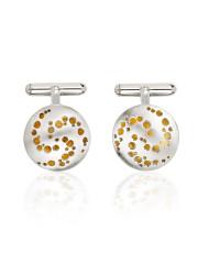 Fiona Kerr Jewellery |Silver & Gold Cufflinks