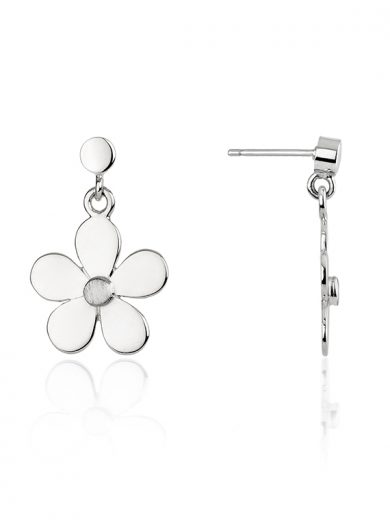 Fiona Kerr Jewellery | Daisy Chain Silver Daisy Drop Earrings