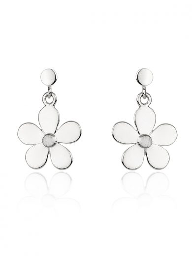 Fiona Kerr Jewellery | Daisy Chain Silver Drop Earrings - DC04