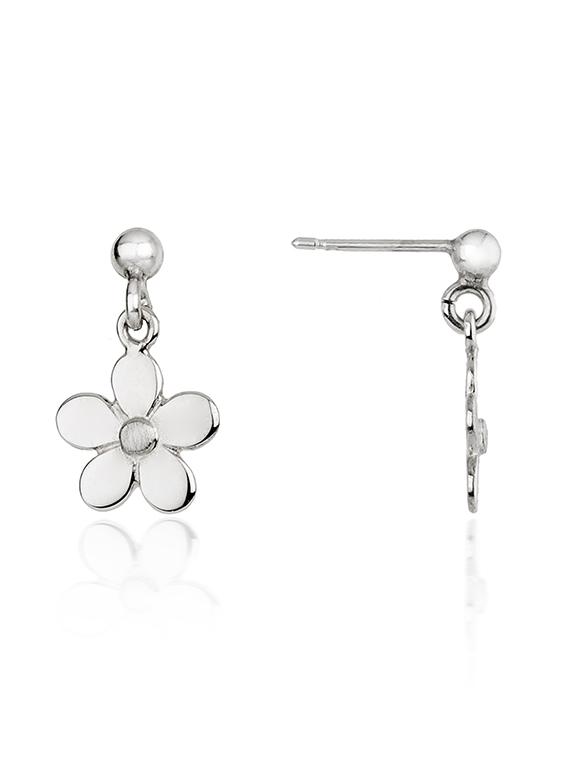 Fiona Kerr Jewellery | Daisy Chain Small Silver Drop Earrings - DC04s