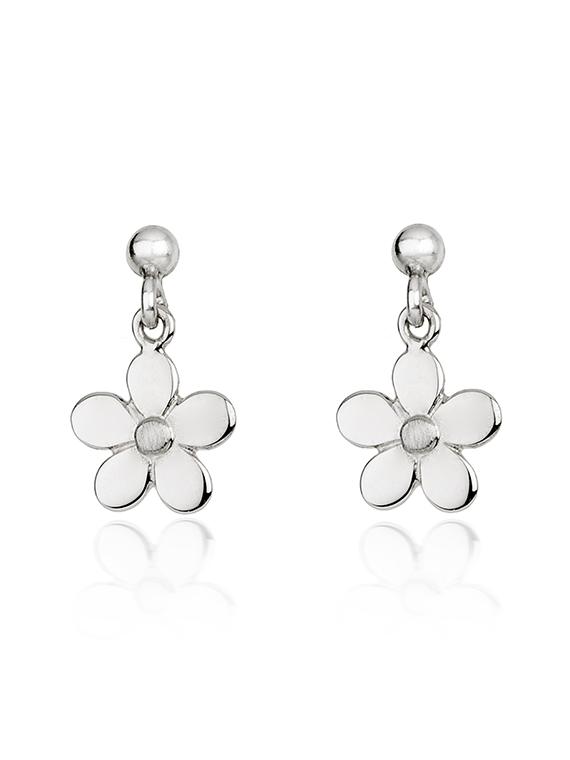 Fiona Kerr Jewellery | Daisy Chain Small Silver Drop Earrings – DC04s