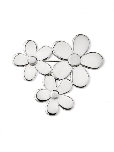 Fiona Kerr Jewellery | Daisy Chain Silver Brooch - DC31