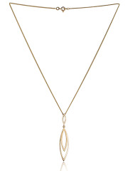 Fiona Kerr Jewellery | 9ct yellow gold pendant with polished and satin finish