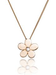 Fiona Kerr Jewellery | Rose Gold Daisy Pendant with Diamond