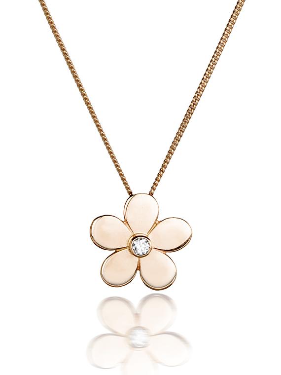Fiona Kerr Jewellery | Rose Gold Daisy Pendant – RDCP