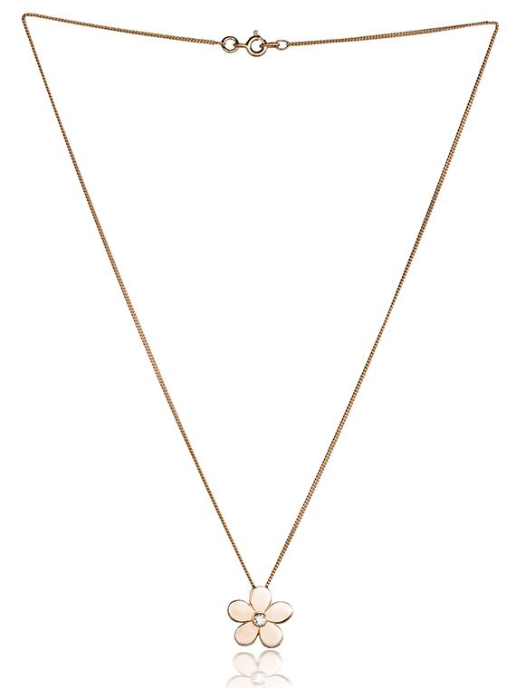 Fiona Kerr Jewellery | Rose Gold Daisy Pendant - RDCP