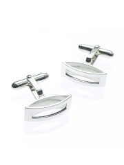 Fiona Kerr Jewellery | Silver Rectangle Cufflinks
