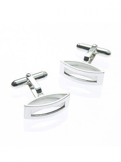 Fiona Kerr Jewellery | Silver Rectangle Cufflinks