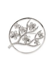 Fiona Kerr Jewellery / Cherry Blossom / Large Silver Brooch – CB07
