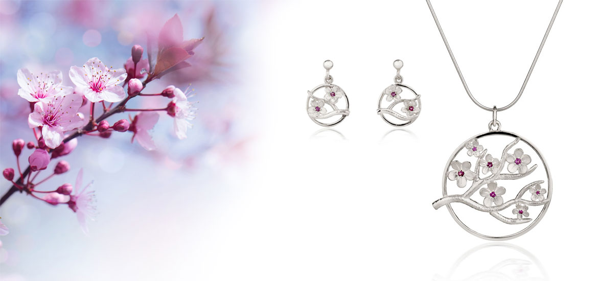 Fiona Kerr Jewellery / Cherry Blossom Collection