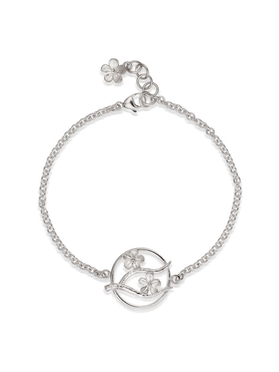 Fiona Kerr Jewellery / Cherry Blossom / Silver Bracelet – CB09