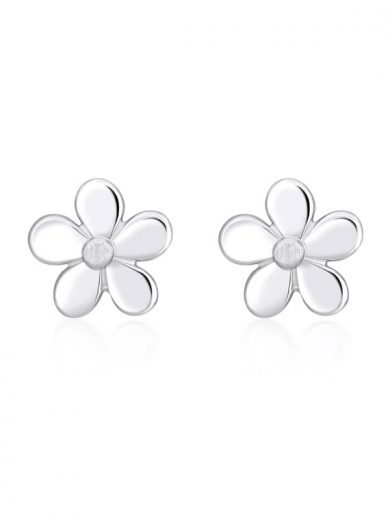 Fiona Kerr Jewellery | Daisy Chain Silver Stud Earrings - DC01