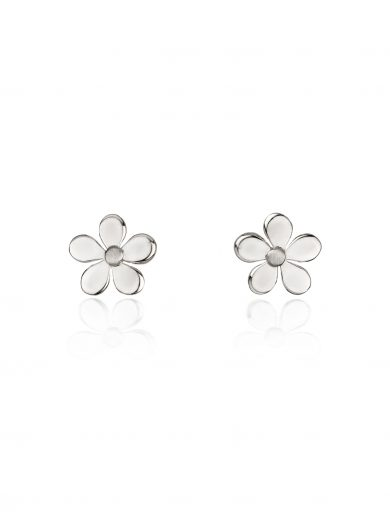 Fiona Kerr Jewellery | Small Silver Daisy Chain Stud Earrings - DC01S