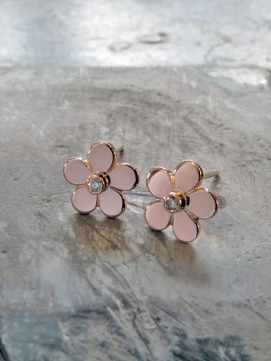 Fiona Kerr Jewellery | Rose Gold Daisy Stud Earrings - RGSE