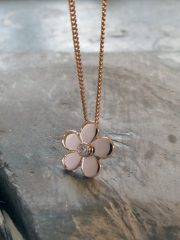 Fiona Kerr Jewellery | Small Rose Gold Daisy Pendant – SRGP